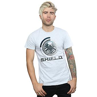 Marvel Men's Avengers SHIELD Logo T-Shirt