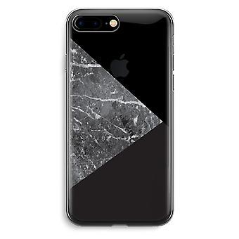 iPhone 7 Plus transparant Case (Soft) - marmer combinatie