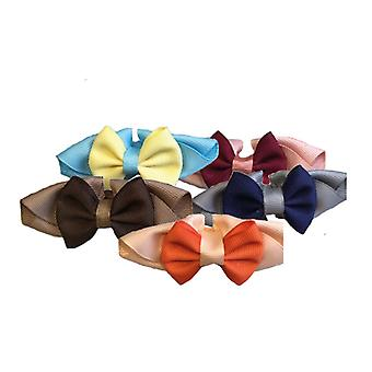 Groom Professional Handsome Bow Collar Accessories for Pets - 10 Pack