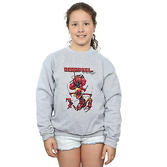 Marvel Girls Deadpool Family Sweatshirt