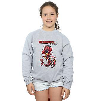 Marvel meisjes Deadpool familie Sweatshirt