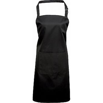 Premier Mens & Womens/dames Deluxe schort met nek-aanpassing buckle