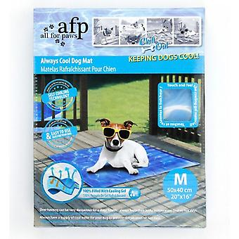 Alles für Pfoten Chill-Out immer Cool Dog Matte (Medium)