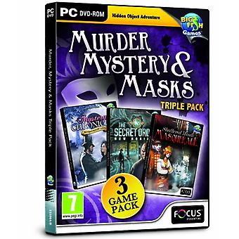 Murder Mystery and Masks Triple Pack - New
