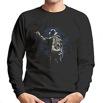 Zombie Michael Jackson Men's Sweatshirt