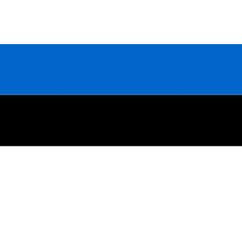 Estland vlag 5 ft x 3 ft met oogjes voor verkeerd-om