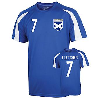 Scotland Sports Training Jersey (fletcher 7)