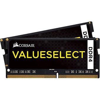 Kit de RAM de l'ordinateur portable de Corsair ValueSelect CMSO8GX4M2A2133C15 8 Go 2 x 4 GB DDR4 RAM 2133 MHz CL15-15-15-36