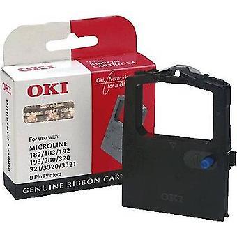 OKI Ink ribbon cartridges 09002303 Original ML280 ML320 ML321 ML3320 ML3321 Compatible with (manufacturer brands): OKI Black 1 pc(s)
