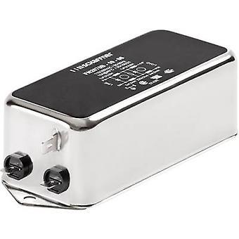 Schaffner FN 2070-3-06 Line filter + IEC socket 250 V AC 3 A 9.8 mH (W x H) 85 mm x 40.3 mm 1 pc(s)