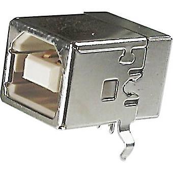 ASSMANN WSW A-USBSB موصل الناقل التسلسلي العالمي (USB) مأخذ التوصيل، المدمج في USB B