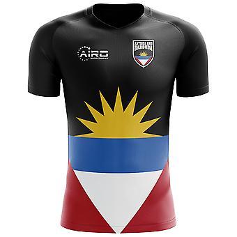 2020-2021 Antigua a Barbuda Home Concept Fotbalové tričko - dospělý dlouhý rukáv
