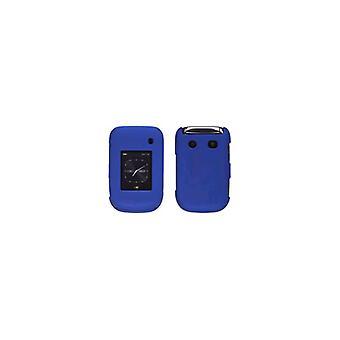 Soft Touch Snap-On fallet för BlackBerry Style 9670 (kobolt blå)