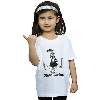 Disney Girls Mary Poppins Rooftop Landing T-Shirt