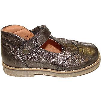 Froddo Girls G2140036-2 T-bar Shoes Bronze Grey