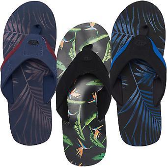 Animal Mens Jekyl aop Summer Beach vacanță sandale Thongs flip flops