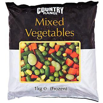 Country Range Frozen Mixed Vegetables
