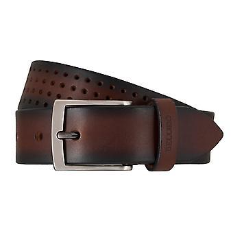 MIGUEL BELLIDO sports wear belts men's belts leather belt Brown 7698