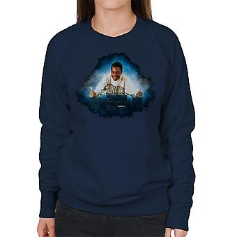 TV Times Andi Peters With A HiFi Thumbs Up Women's Sweatshirt