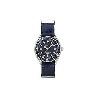 Nautica Analogueico Watch quartz men's watch with leather NAPPRF009