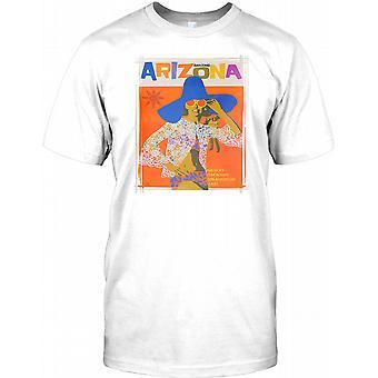 Erstaunliche Arizona - Vintage Retro Reise Poster - Herren T Shirt