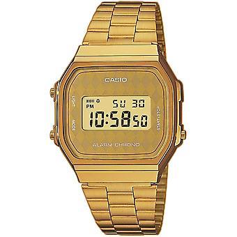 Casio Casio A168WG-9BWEF Sammlung Stahl Uhr - gemischt