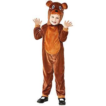 Costume orso neonato orso tuta animale costume unisex di Carnevale