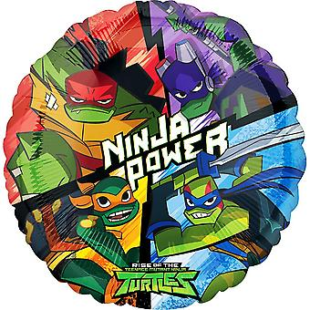 Anagram Rise Of The Teenage Mutant Ninja Turtles Round Foil Balloon