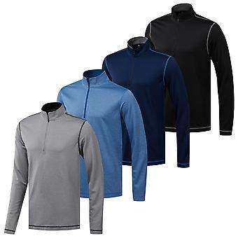 adidas Golf Hombres PROTECción UV 1/4 Zip Suéter