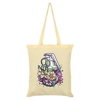 Unorthodox Collective Floral Grenade Tote Bag