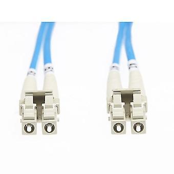 2M LC LC Om4 πολλαπλών λειτουργιών καλώδιο οπτικών ινών μπλε