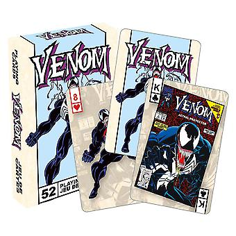 Marvel Venom Retro Playing Cards