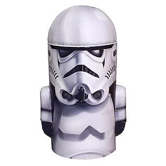 Star Wars Stormtrooper testa forma scatola di soldi di latta