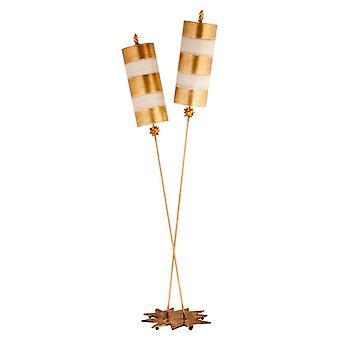 Lámpara de pie de Luxe Gold de ortiga