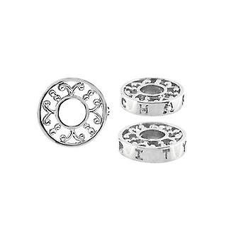 Storywheels Silver & timantti usko Wheel Charm S366D