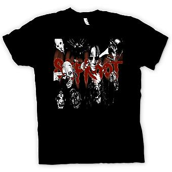 T-shirt - Slipknot - groupe de heavy métal