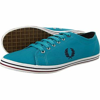 Fred Perry Kingston Twill Con punta Plimsolls Entrenadores Bombas Zapatos Casual Esb3176-367