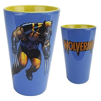 Pint Ceramic Cup - Marvel - Wolverine  New gcm-xmen-wywl