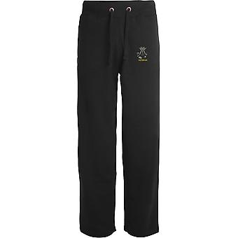 Somerset og Cornwall Light Infantry veteran-licenseret British Army broderet åbne hem sweatpants/jogging bunde