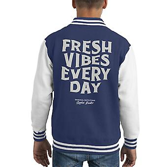 London Banter Fresh Vibes Every Day Kid's Varsity Jacket
