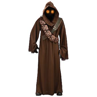 Jawa Deluxe Star Wars Classic Movie Light Up Eyes Licensed Adult Mens Costume