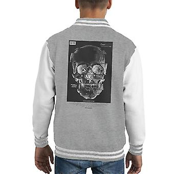Divide & Conquer Glitch Skull Kid's Varsity Jacket