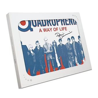 Phil Daniels Signed Quadrophenia Poster: A Way Of Life In Gift Box