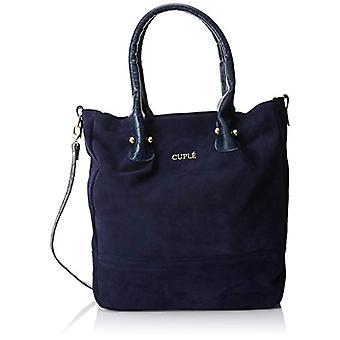 CUPL Women's shoulder bag 8x35x30 cm (W x H x L) Blue Size: 8x35x30 cm (W x H x L)