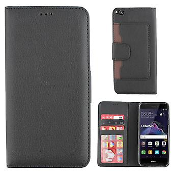 Huawei P9 Lite 2017 Case Black - Wallet Case