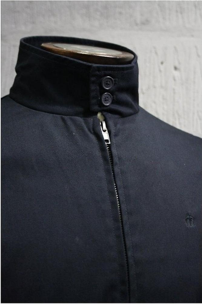 Merc London Harrington Navy Cotton Jacket