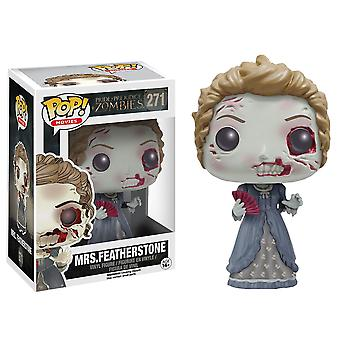 Pride and Prejudice and Zombies Mrs Featherstone Pop! Vinyl