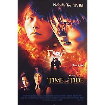 Time och Tide (dubbelsidig regelbunden) original Cinema affisch