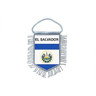 Flag Mini Flag Country Car Decoration El Salvador