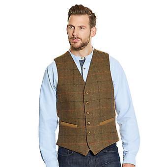 Pegasus Mens Tweed Waistcoat